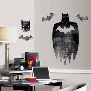 Batman Silhouette Peel And Stick Giant Wall Graphic