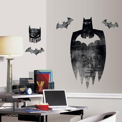 Genial Batman Silhouette Peel And Stick Giant Wall Graphic. Wall Decal