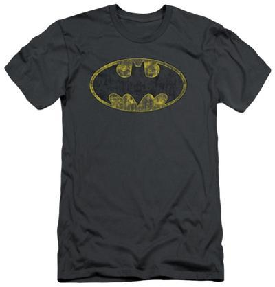 Batman - Tattered Logo (slim fit)