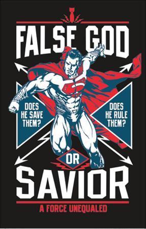 Batman vs. Superman Blacklight Poster