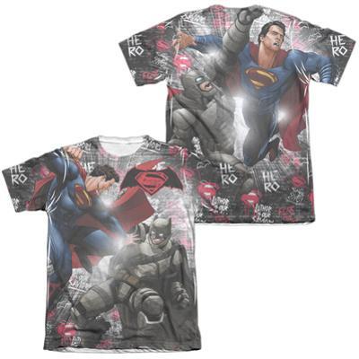 Batman vs. Superman- Showdown (Front/Back)