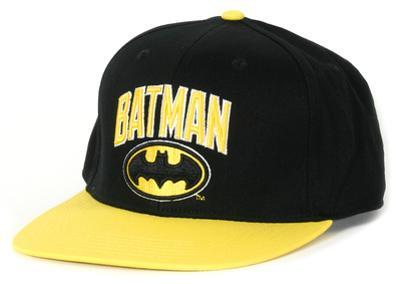 Batman- Wordmark Logo Snapback