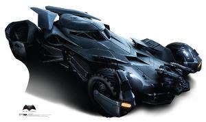 Batmobile - Batman v Superman: Dawn Of Justice Lifesize Cardboard Cutout