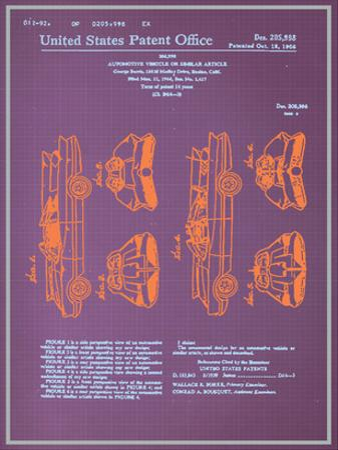 Batmobile Design Blueprint
