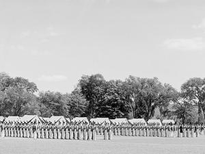 Battalion Ready for Inspection, United States Military Academy, West Point, N.Y.