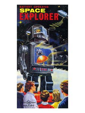 Battery Operated Space Explorer
