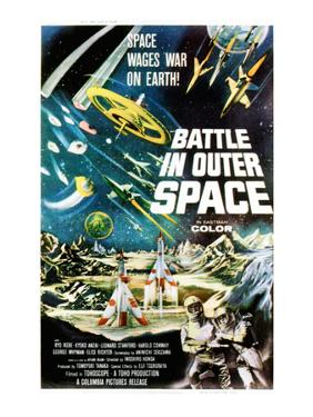 Battle In Outer Space, (AKA Uchu Daisenso), 1959