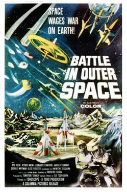Battle In Outer Space, (AKA Uchu Daisenso), 1959
