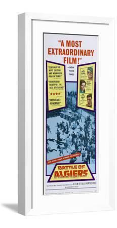 Battle of Algiers - Spanish Style--Framed Poster