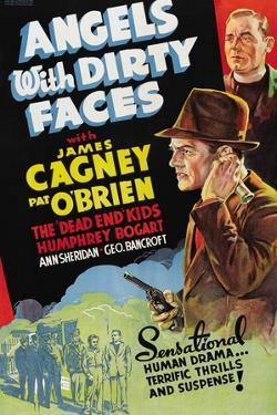 """Battle of City Hall, 1938, """"Angels With Dirty Faces"""" Directed by Michael Curtiz"""