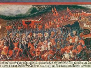 Battle of Kronenberg, Germany in C.1388