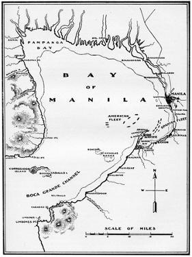 Battle of Manila Bay, Philippines, Spanish-American War, 1898