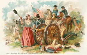 Battle of Monmouth, Molly Pitcher