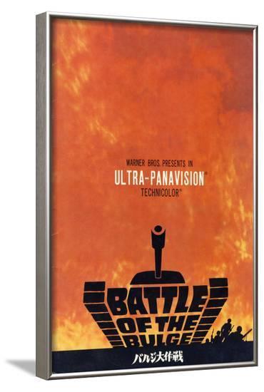 Battle of the Bulge, 1966--Framed Art Print