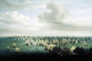 Battle of Trafalgar, October 21, 1805, First Phase, Spain