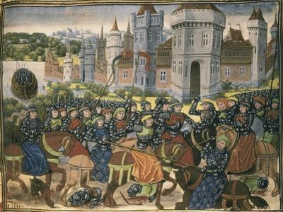 Battle Outside City Walls