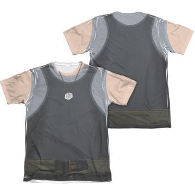 Battle Star Galactica- Uniform Costume Tee (Front/Back)