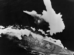 Battleship Yamato under Attack