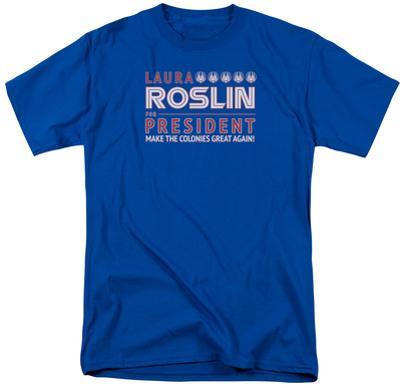 Battlestar Galactica- Roslin For President