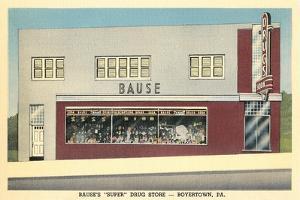 Bause Drug Store, Boyerstown, Pennsylvania