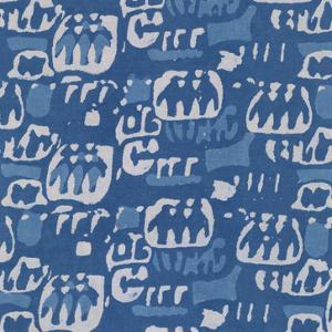 Blue Batik I by Baxter Mill Archive