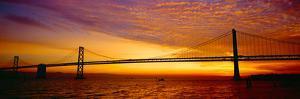 Bay Bridge at Sunrise, San Francisco, California