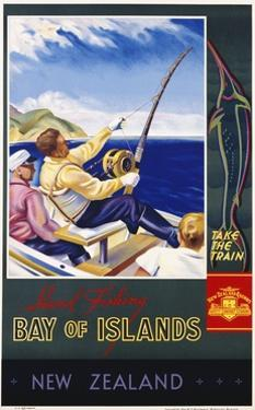 Bay of Islands New Zealand Poster