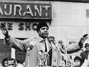 Bayard Rustin, Organizer of the 1963 March on Washington in 1965