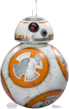 BB-8 - Star Wars VII: The Force Awakens Lifesize Cardboard Cutout