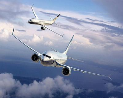 BBJ MAX 8 based on the 737 MAX 8