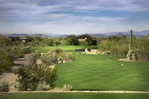 Golf Course Fairway, Scottsdale,Arizona,Usa by BCFC