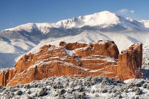 Pike's Peak and the Gardern of the Gods by bcoulter
