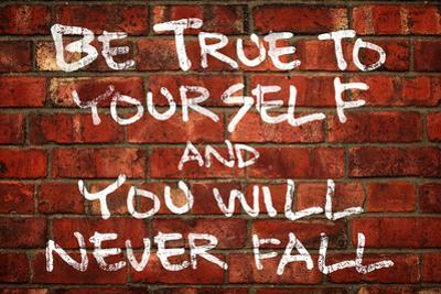 Be True To Yourself And You Will Never Fall Music
