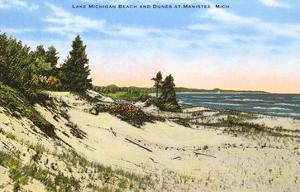 Beach and Dunes, Manistee, Michigan