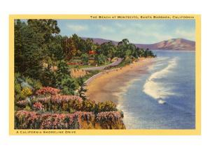 Beach at Montecito, Santa Barbara, California
