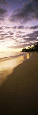 Beach at Sunset, Lanikai Beach, Oahu, Hawaii, USA