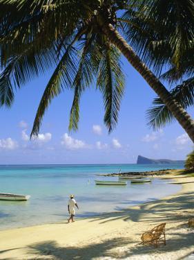 Beach, Cap Malheureux, Mauritius by G Richardson