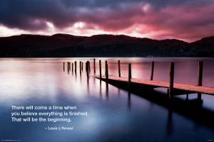 Beach - Dock Quote