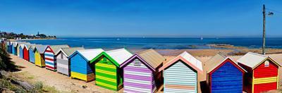 Beach Huts on the Beach, Brighton the Beach, Melbourne, Victoria, Australia