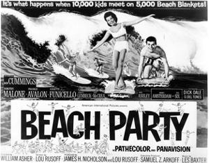 Beach Party - Lobby Card Reproduction