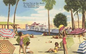Beach, Pier, St. Petersburg, Florida