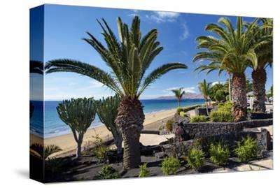 Beach Playa Blanca, Puerto del Carmen, Lanzarote, Canary Islands, Spain