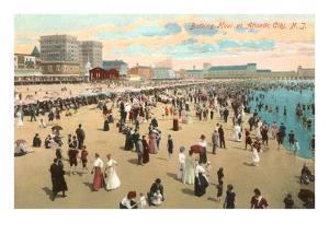 Beach Scene, Atlantic City, New Jersey