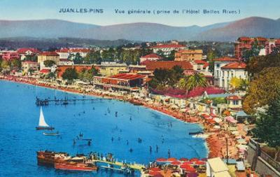 Beach Scene in Juan les Pins