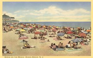 Beach Scene, Ocean Grove, New Jersey