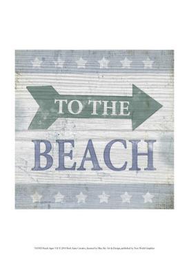 Beach Sign VII