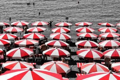 Beach Umbrellas Amalfi Coast Italy