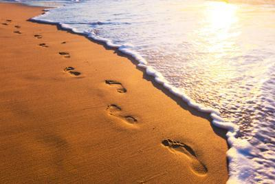 https://imgc.allpostersimages.com/img/posters/beach-wave-and-footsteps-at-sunset-time_u-L-Q1037IB0.jpg?p=0