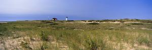 Beach with Lighthouse in the Background, Race Point Light, Provincetown, Cape Cod