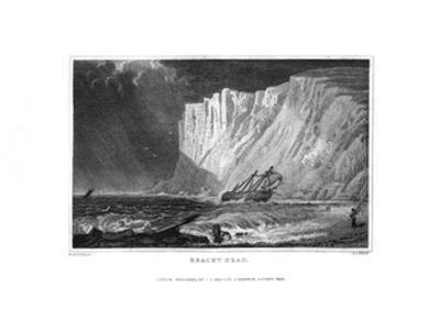 Beachy Head, East Sussex, 1829 by J Rogers